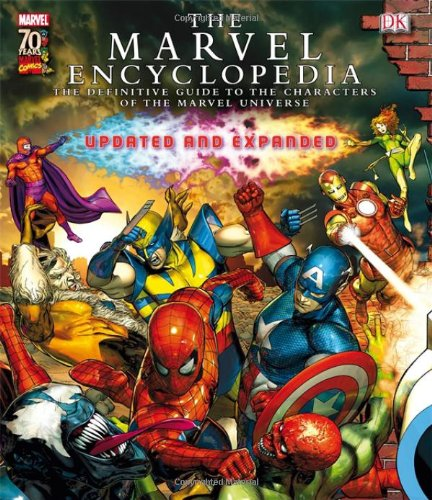 The marvellous Marvel Encyclopedia from Dorling Kindersley