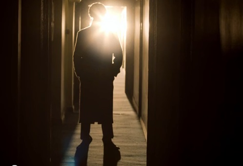 The shadow detective... Sherlock returns on New Year's Day