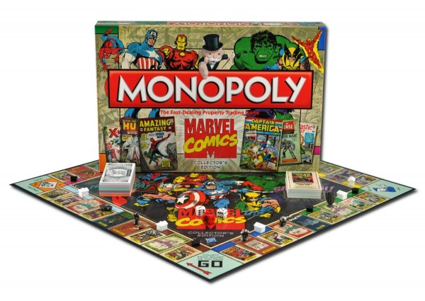 Monopoly, the Marvel Comic Book Edition