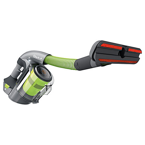 The Gtech Multi handheld vacuum cleaner, with those LED lights...