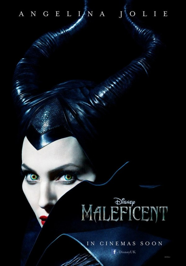 Angelina Jolie as Disney's most iconic villain, Maleficent.