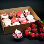Crumbs & Doillies Valentine's Day cupcakes