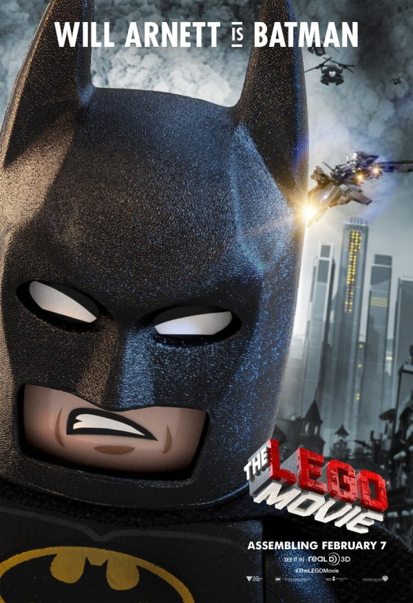 Will Arnett as Batman - DARKNESS!