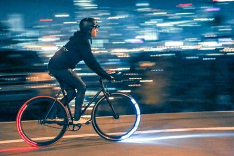 The Revolights City Wheels in action
