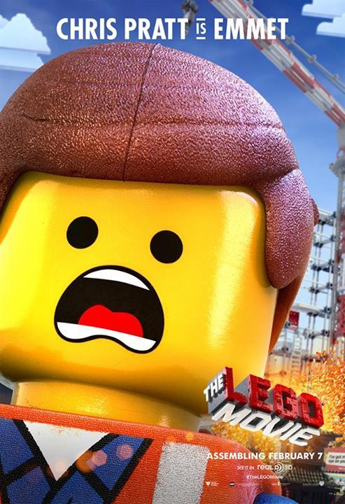 Chris Pratt as Emmet, Average Joe Bricks...