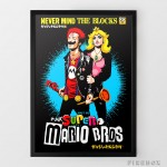 Punk Super Mario Brothers print on Firebox