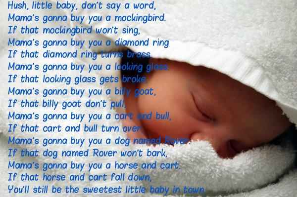 Hush Little Baby Lyrics