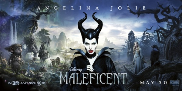 Maleficent banner poster