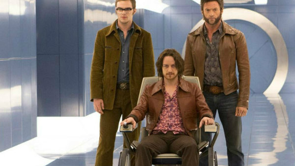 X-Men: Days of Future Past - Hoult, McAvoy, Jackman