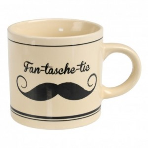 Moustache mug from Dotcomgiftshop