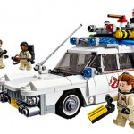Ghostbusters Ecto-1 LEGO takes to the streets