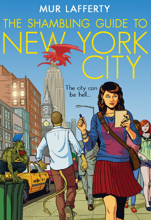 Cover for Mur Lafferty's The Shambling Guide to New York City