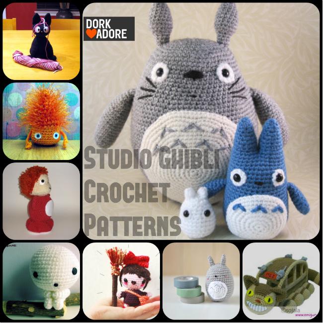Studio Ghibli Crochet