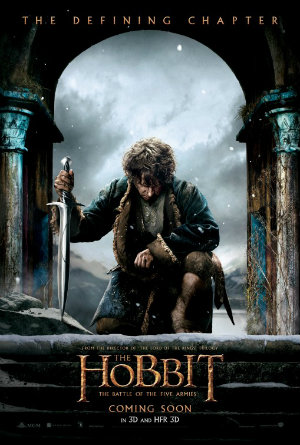 Teaser poster for The Hobbit: The Battle of the Five Armies