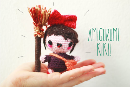 Amigurumi Kiki (Kiki's Delivery Service) (c) The Sun and The Turtle