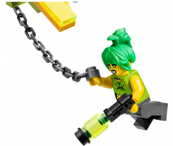 Toxikita has hair to beat all other minifigs.