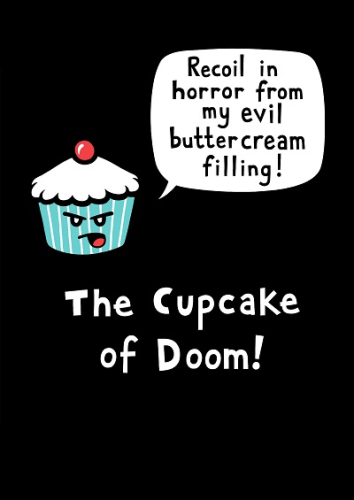 Genki Gear Cupcake of Doom print