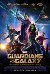Guardians of the Galaxy official film poster