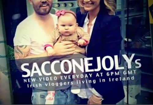 The SacconeJolys title screen