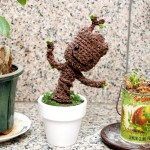A free dancing Groot crochet pattern to make your day
