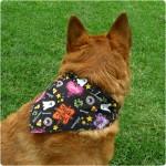 Halloween dog bandana by Gleeful Things