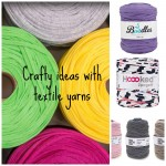 For the eco-conscious knitter or crocheter: introducing textile yarns
