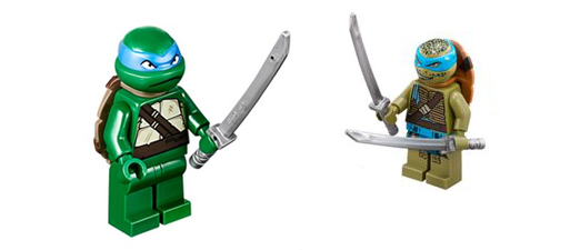 One's super cool, the other's a bit grumpy. Not overly sold on the movie minifigs.