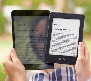 Tablet vs Paperwhite comparison.