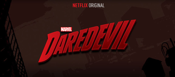Logo for Marvel's Daredevil, a Netflix Original series coming in 2015