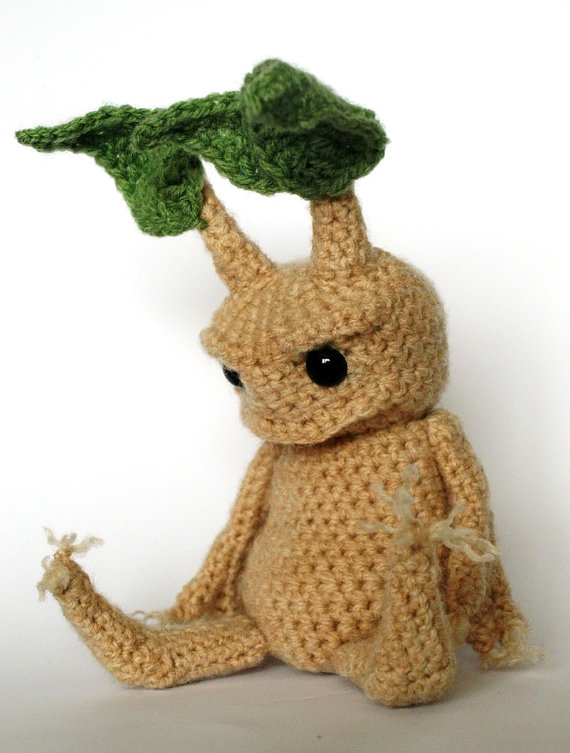 Finished Mandrake from pattern by Mr. Fox on Etsy