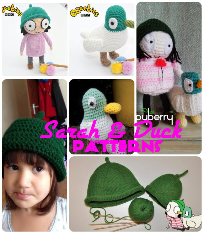 Sarah Duck Patterns Free Knitting And Crochet Round Up