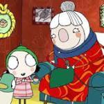 Scarf Lady Knitting
