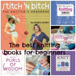 Knitting books graphic