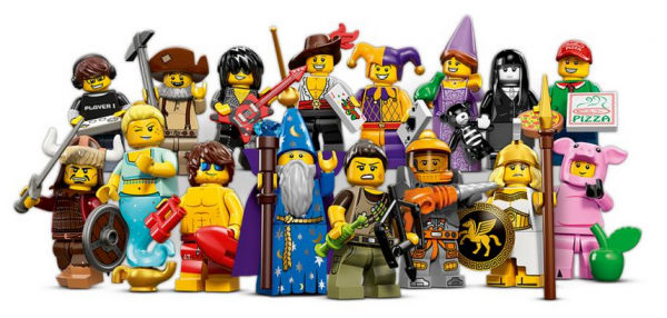 Yet more LEGO figures I'll need to buy... BAH!