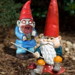 Amp up your garden's creep factor – zombie garden gnomes for Halloween