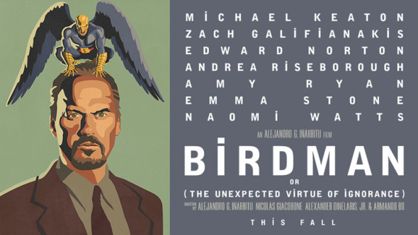 Poster for Birdman, Or The Unexpected Virtue of Ignorance (2015)