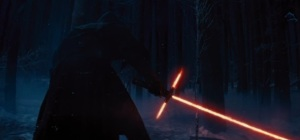 Screenshot from the teaser trailer for Star Wars Episode VII: The Force Awakens