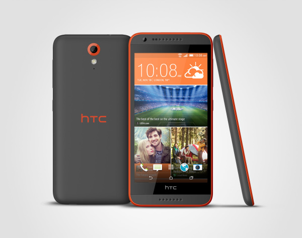 HTC Desire 620 Saffron Gray