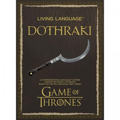 Living Language Dothraki course