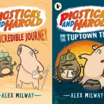 Hilarious early reader series by Alex Milway