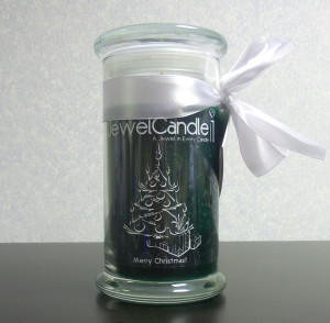 Merry Christmas classic candle from JewelCandle