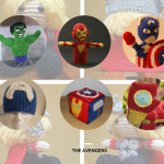 The Avengers: Crochet or knit your own superheroes for free