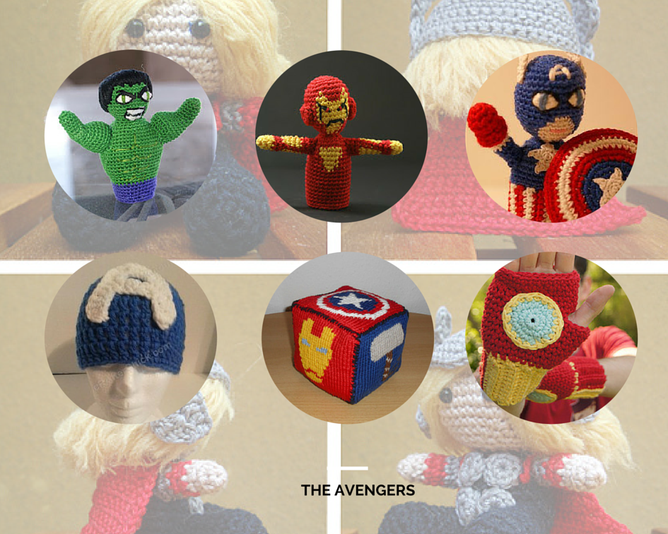 The Avengers Crochet Or Knit Your Own Superheroes For Free