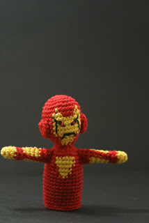 iron man finger puppet