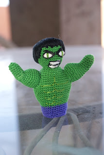 the hulk finger puppet