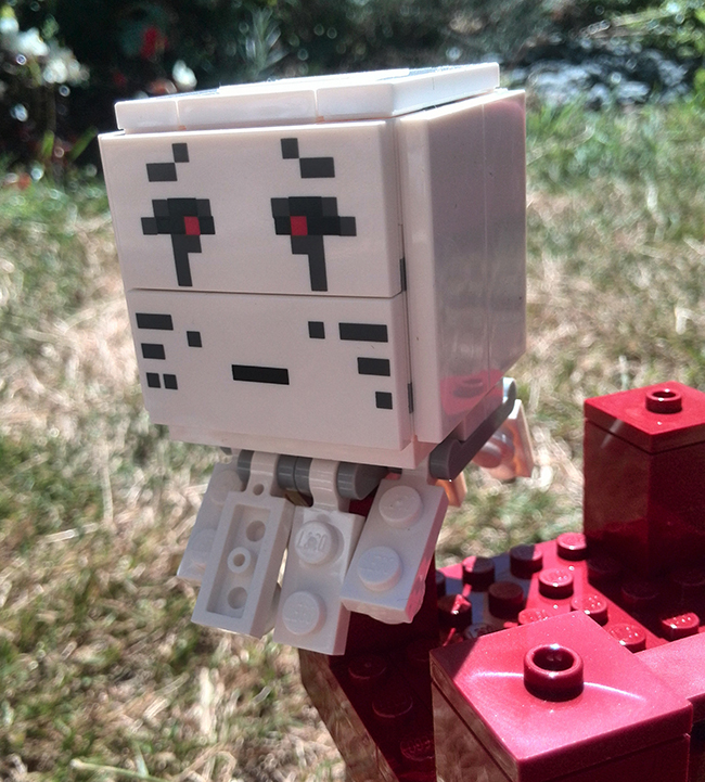 GASP! It's a really creepy Ghast!
