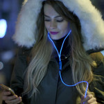 Novelty NeoGlow Earphones: Yes, they light up!