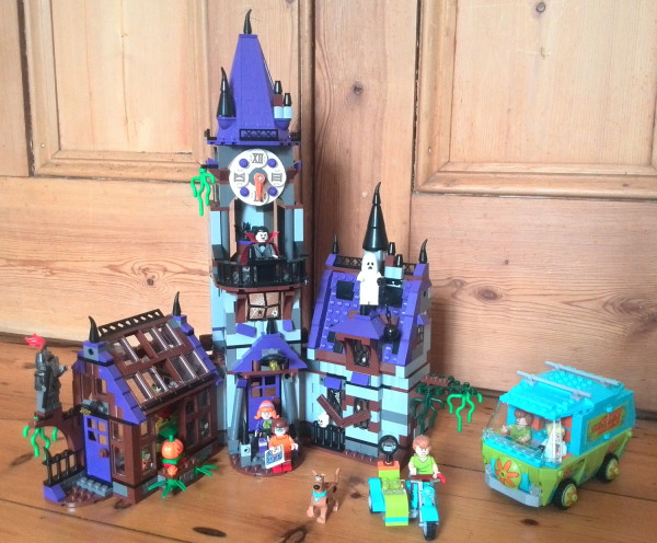 The Haunted Mansion in all its glory! It's vast, and a joy to build.
