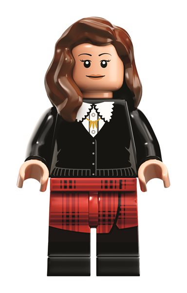 the lovely Clara Oswald with her tartan skirt